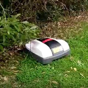 robot cortacesped honda miimo. Instalación Asturias